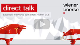 direct talk-Videos mit den Experten des direct network bieten kompakte Informationen zum direct market plus